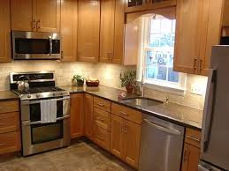 Small Modern Kitchen Ideas kitchen beautiful white grey red wood stainless luxury design