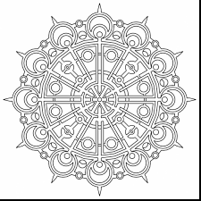 unbelievable geometric mandala coloring pages with geometry