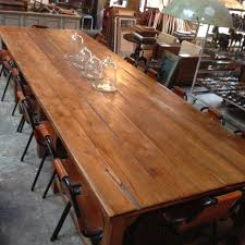 Reclaimed Timber Dining Table 16 Seater Recycled Timber Dining Table The Third Row