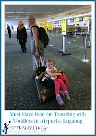 Wyoming traveling with toddlers images Well traveled kids why the lugabug is a must have item for jpg