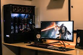 Pc Gaming Desk by Titan Some New Pics For A New Year Battlestations Gaming