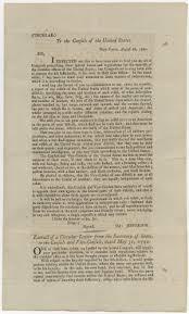 george washington s second thanksgiving proclamation sent to