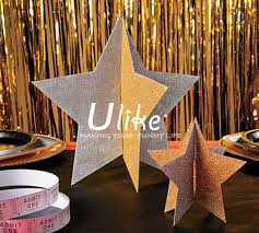 Gold Foil Curtain by Wedding Background And Stage Decoration Metallic Foil Curtain