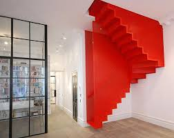 White Oak Staircase Awesome Staircase Design Wall Bookshelves Oak - Staircase designs for homes