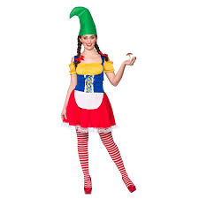 adults mens funny garden gnome fancy dress up party halloween