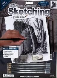 royal u0026 langnickel skbn9 sketching made easy tree stump