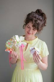 flower headbands diy painted paper flower headbands diy