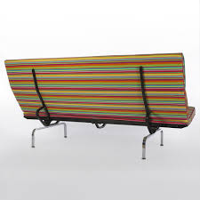 Herman Miller Original Vintage Eames Compact Sofa In Girard Fabric - Sofa compact
