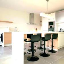 table pour cuisine hauteur de bar cuisine hauteur table bar cuisine 110cm tabouret 80cm