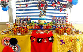 jake and neverland birthday party ideas pirate birthday