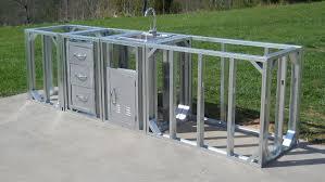 modular outdoor kitchen islands best modular outdoor kitchen home furniture