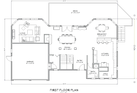 1st floor planmodern house with plans and elevations laferida