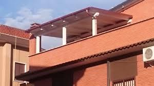tettoia in legno per terrazzo marziallegno tettoia in legno realizzata su terrazzo roma