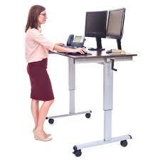 Ikea Stand Up Desk by Desks Ikea Height Adjustable Desk Computer Desk Standing