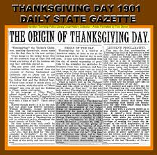 thanksgiving day proclamation tom glover u0027s hamilton library scrapbook local history with a