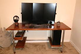 42 Inch Computer Desk Design Your Own Computer Desk Build Your Own Diy Computer Gaming