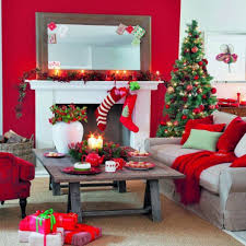 Christmas Decorated Homes Inside by Home Office Furniture Sets Contemporary Desk Offices Design