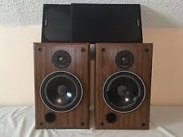 Infinity Bookshelf Speakers Infinity Sm 80 Walnut Finish Vintage Main Stereo Bookshelf