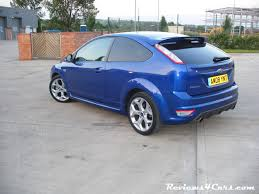 ford focus st performance blue paint ford focus st wrapped in