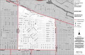 Portland Neighborhood Map Woodlawn Neighborhood Association Northeast Coalition