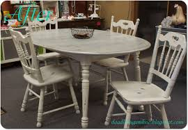 round rustic dining table kitchen fabulous distressed paint white rustic dining table