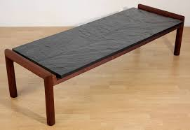 Slate Top Coffee Table Slate Top Coffee Table Adrian Pearsall For Craft Modish Slate Top
