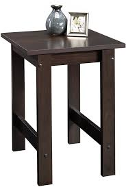 Contemporary Sofa Table by Amazon Com Sauder Beginnings End Table Cinnamon Cherry Kitchen