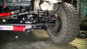 jeep steering stabilizer diy jeep dual steering stablizer shock install