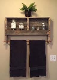 bathroom towel racks ideas best 25 towel shelf ideas on pallet towel rack