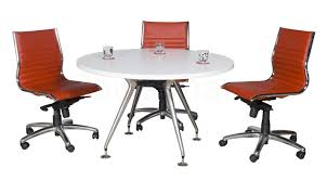 small round conference table round meeting table on luna base boardroom and meeting tables