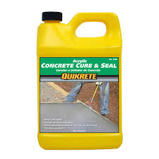 shop quikrete cure and seal 128 fl oz acrylic masonry sealer for