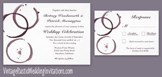 vineyard wedding invitations vineyard wedding invitations vintage rustic wedding invitations