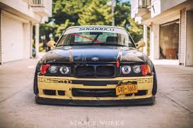 bmw e36 stanced nose front end e36 felony form ff car ish pinterest bmw and cars