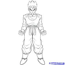 dragon ball coloring pages gohan big coloring pages dragon ball z