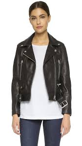 jacket moto acne studios leather moto jacket shopbop
