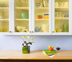 Kitchen Cabinets Glass Inserts Do It Yourself Kitchen Cabinets Makeover How To Install New