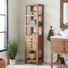 how to make storage cabinets 18 benoist bathroom linen storage cabinet pine