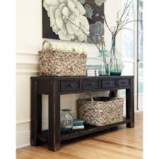 ashley gavelston end table chic and vintage the gavelston sofa table will bring cottage