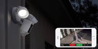 ring security light camera ces 2017 ring launches motion activated security camera with