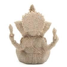 sandstone ganesha sculpture handmade figurine ornament home