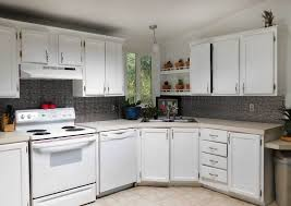 Crackle Paint Kitchen Cabinets Kitchen Cabinet Makeover A Before And After Project With Paint