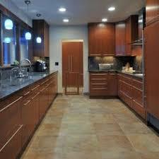 Kitchen Design Cherry Cabinets by Cherry Cabinets With Light Blue Walls Kitchen Ideas Pinterest