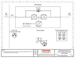 toshiba 1000 series 2 kva rackmount double conversion online ups
