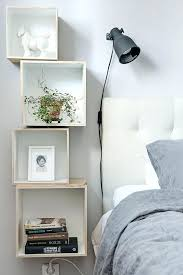 Floating Nightstand Shelf Floating Bedside Table Bedside Stand Beautiful On Bedroom Designs