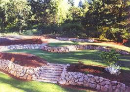 stone retaining walls landscaping waterfalls irrigation salem