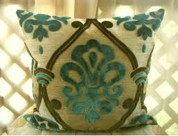 Beautiful Sofa Pillows by Green Velvet Throw Pillows Pillow Decoration
