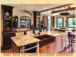 best way to clean wood cabinets best way to clean wood cabinets in kitchen kingdomrestoration