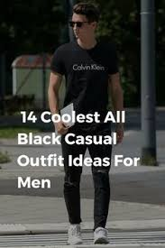 all black casual the 25 best all black ideas on black styles