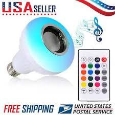Bluetooth Light Bulb Speaker Light Bulb Speaker Ebay