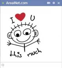 I Love You This Much Meme - tech check eng new facebook chat big meme codes and big facebook